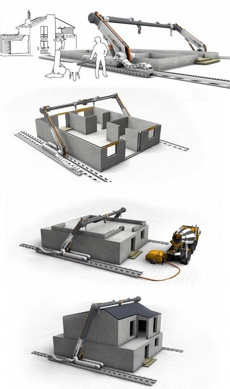 hausbau 3d modelle 3d drucker. Black Bedroom Furniture Sets. Home Design Ideas